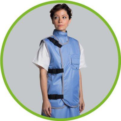 X ray protective bodice