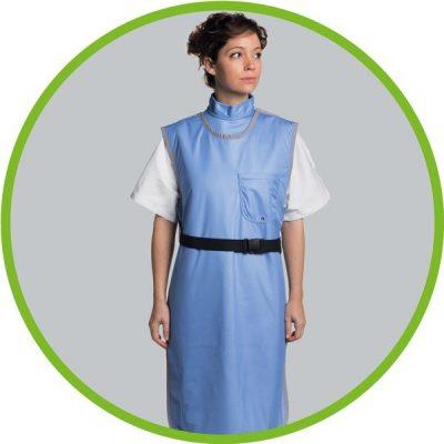 X ray shielding apron